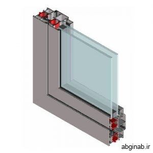پنجره دوجداره آلومینیومی ترمال بریک