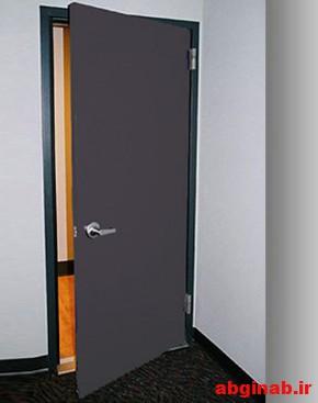 درب ضد صدا دستشویی , درب درب اکوستیک